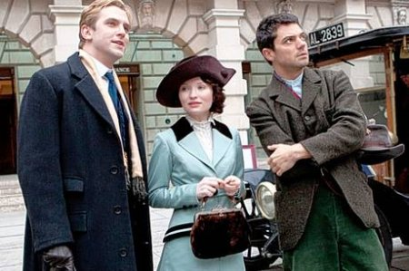 Dan Stevens, Emily Browning and Dominic Cooper
