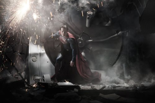 Man of Steel – first release image