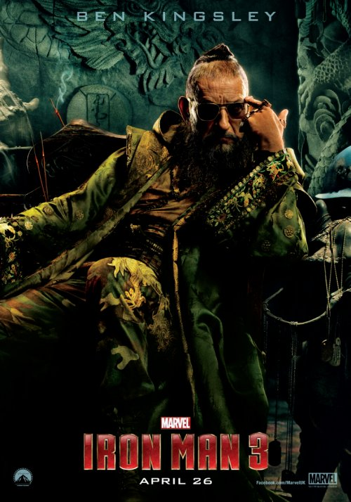 The Mandarin – Iron Man 3 Character poster