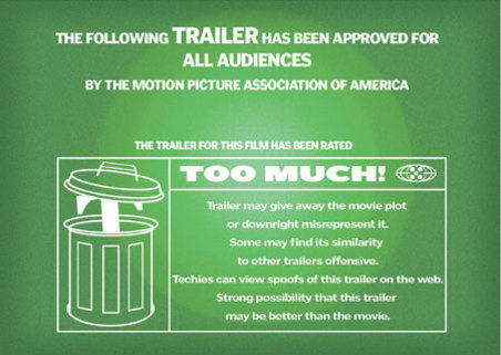 The strange world of film trailers