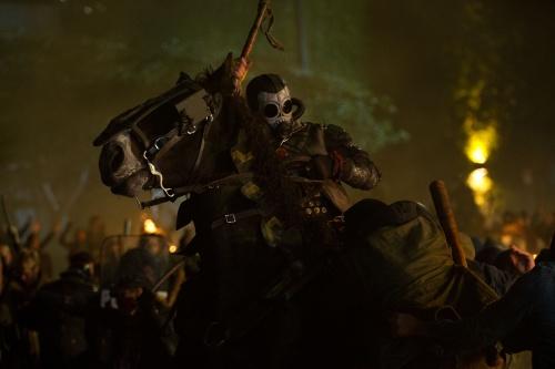 Gas masked evil