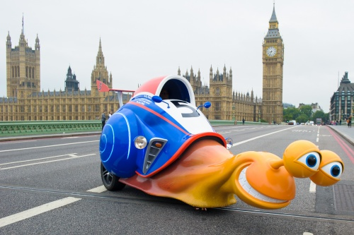 Speeding on Westminster Bridge