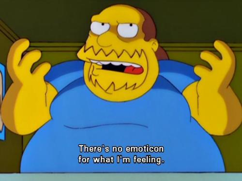 Comic Book Guy in need of some help