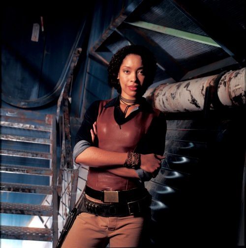 Zoe Washburne played by Gina Torres