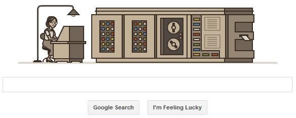 Grace Hopper gets a google doodle