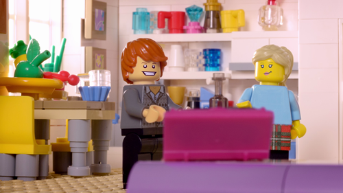 BT - One of the LEGO'd adverts