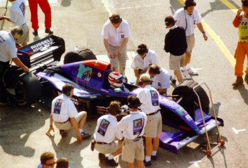 Ratzenberger at Imola 1994