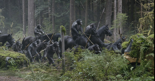 Dawn of the Planet of the Apes 4