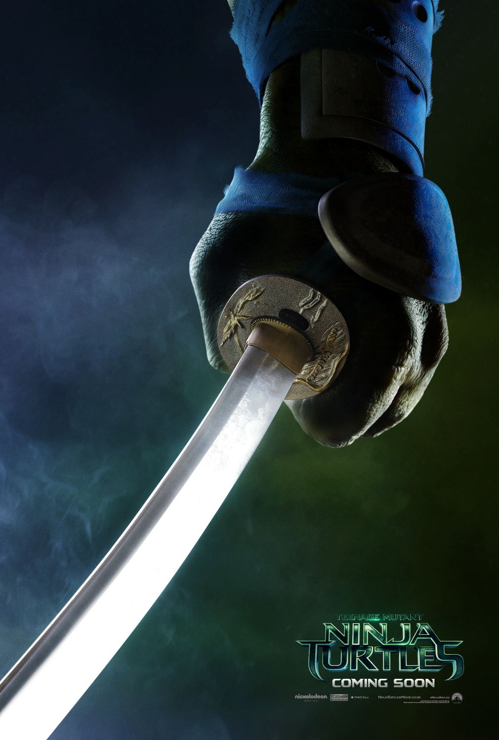 Teenage Mutant Ninja Turtles Teaser poster – Leonardo