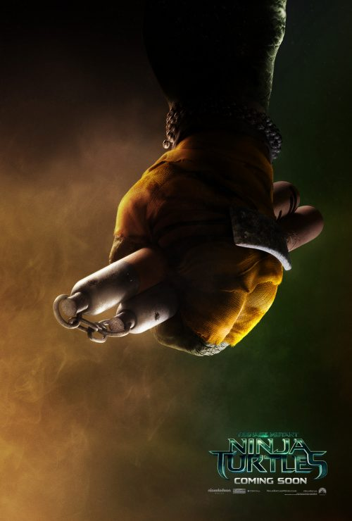 Teenage Mutant Ninja Turtles Teaser poster - Michelangelo