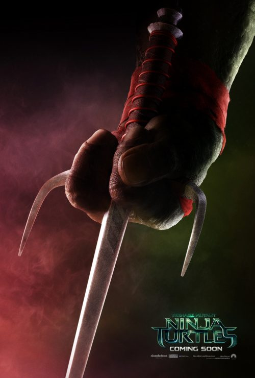 Teenage Mutant Ninja Turtles Teaser poster - Raphael