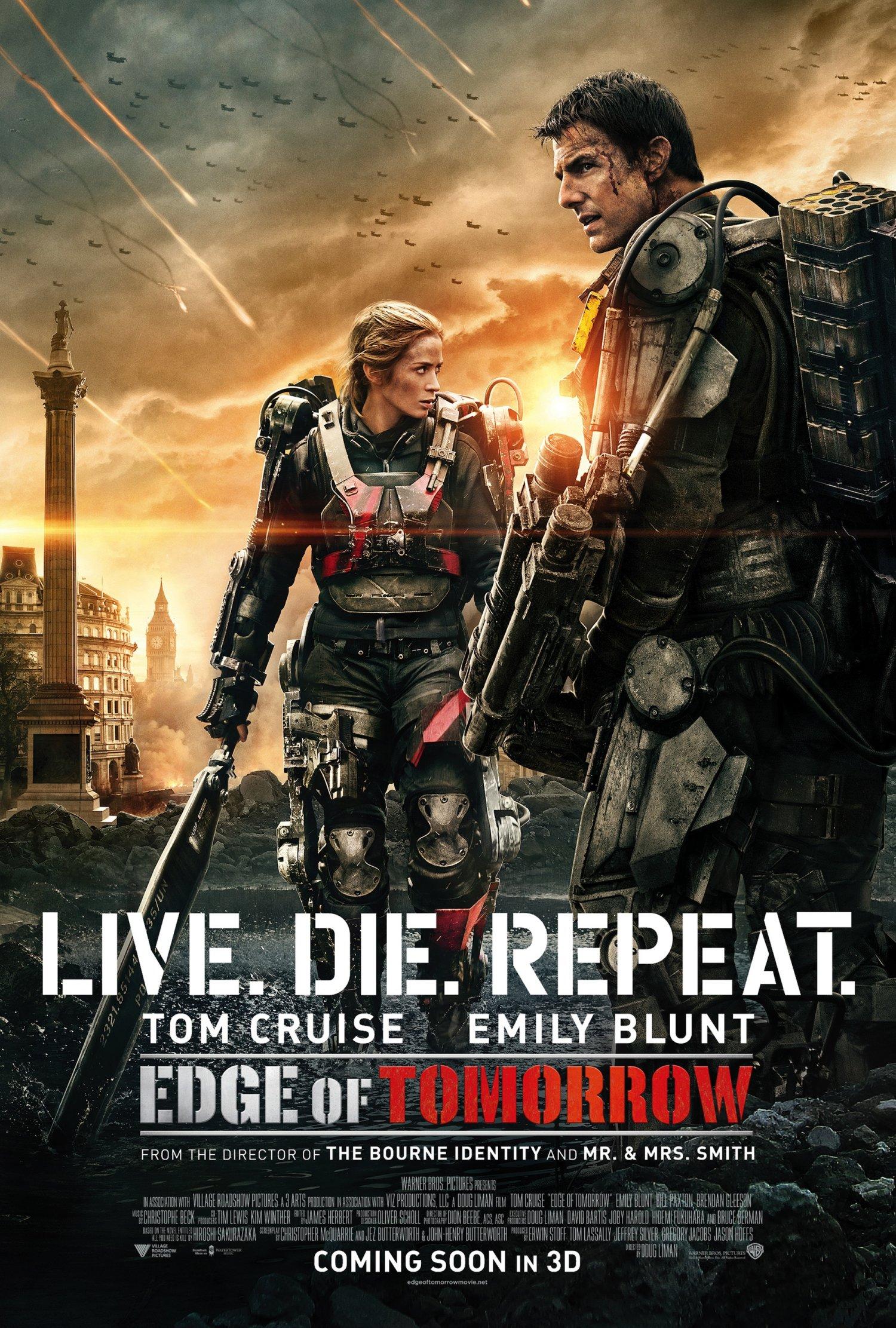 Edge of Tomorrow London poster
