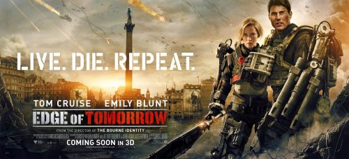 Edge of Tomorrow - London poster with Emily