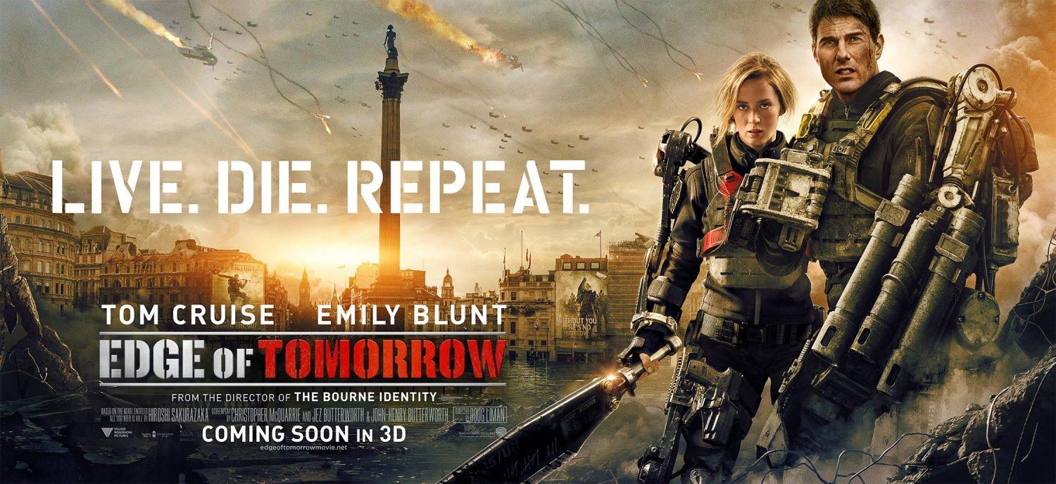 Edge of Tomorrow – London poster with Emily
