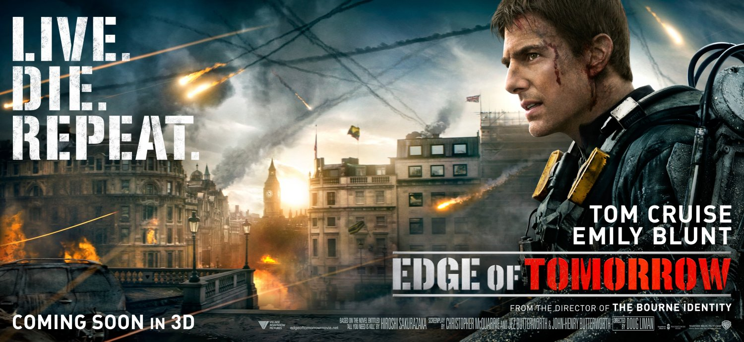 Edge of Tomorrow – London poster with Tom