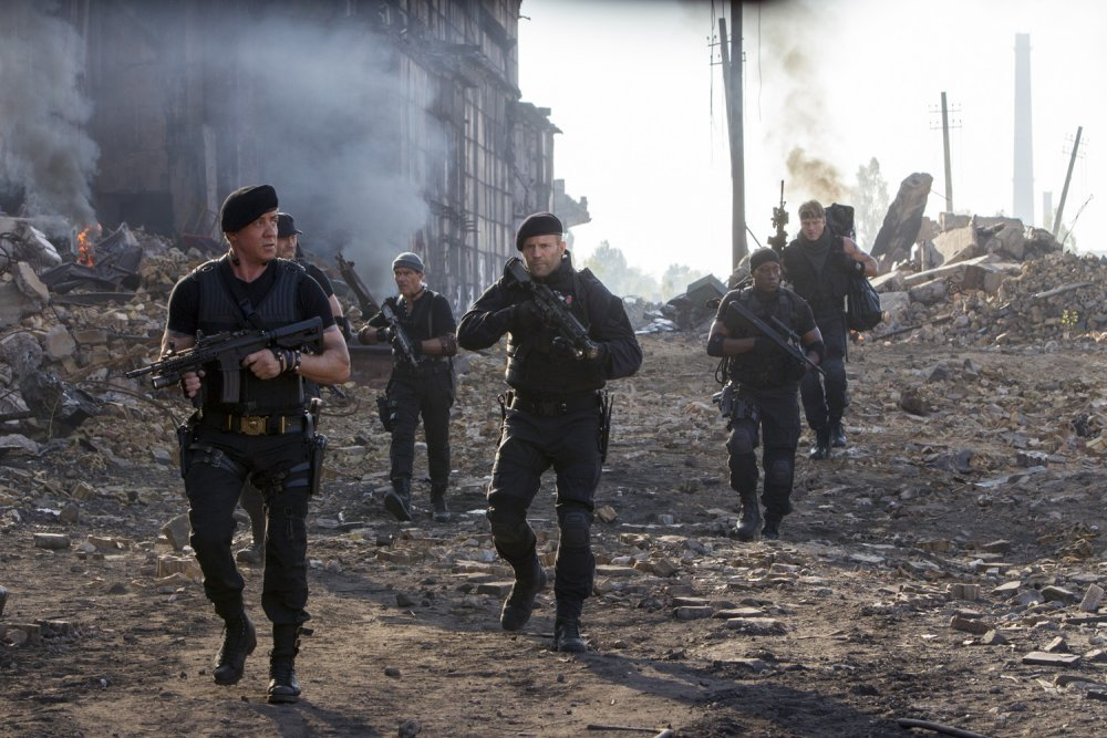 The Expendables 3 – old and young together