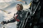 Tom Cruise & Emily Blunt run around the world