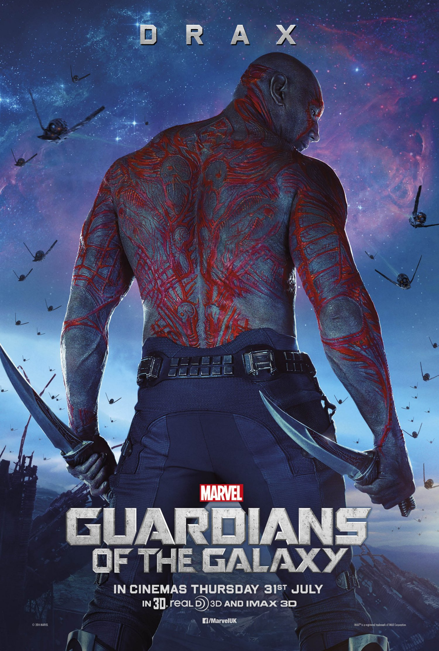 Guardians of the Galaxy – Drax poster