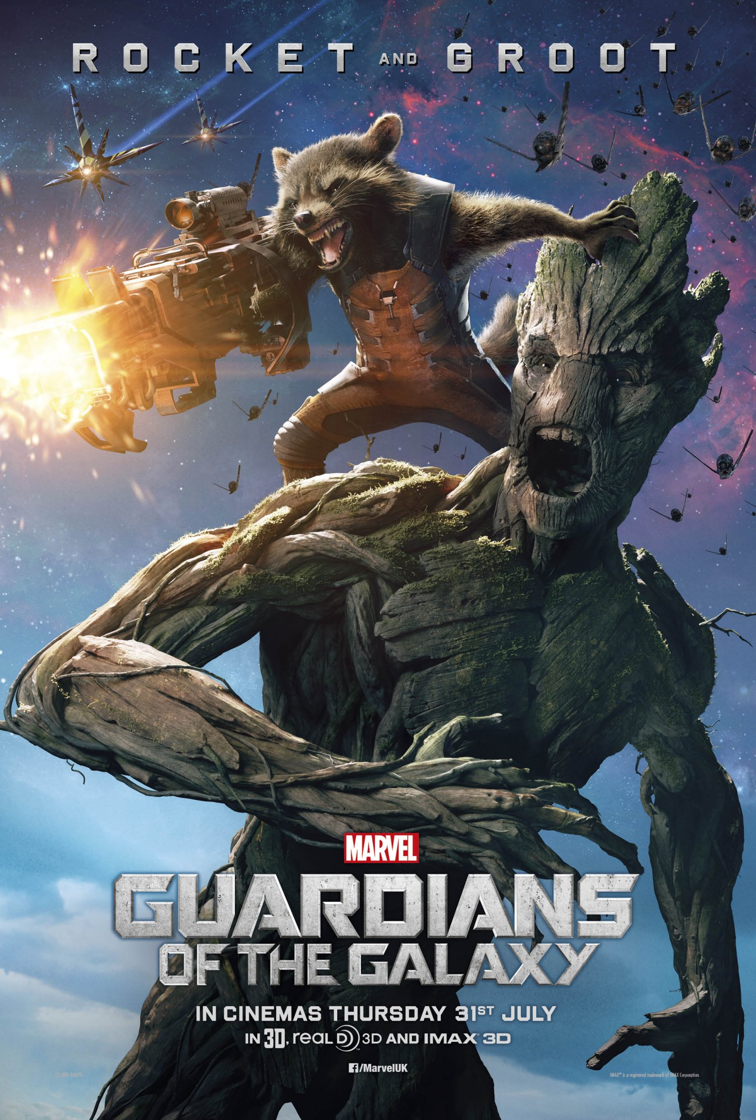 Guardians of the Galaxy – Groot and Rocket poster