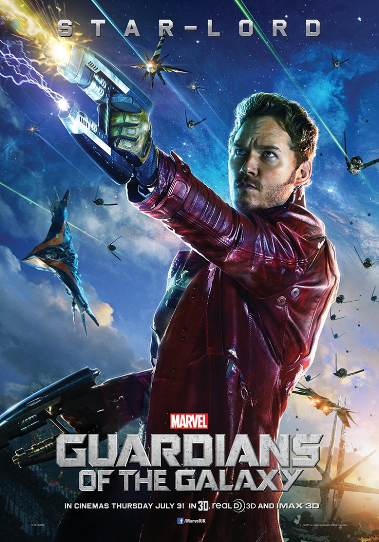 Guardians of the Galaxy – Peter Quill poster