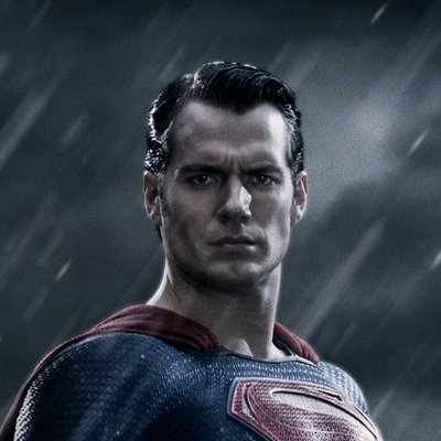 Batman Vs Superman – Henry Cavill head