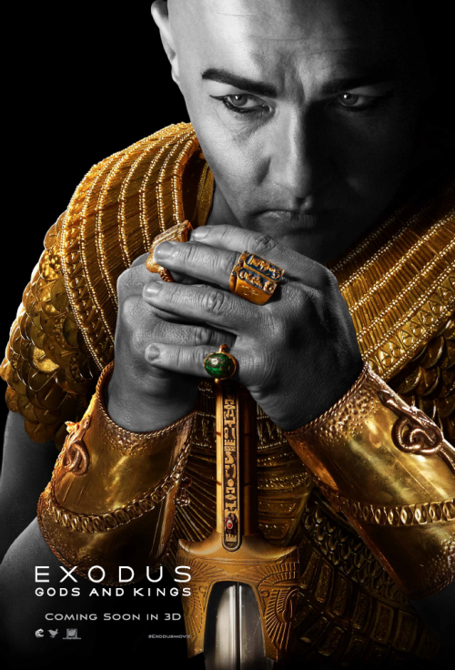 Exodus - Gods and Kings Ramses poster