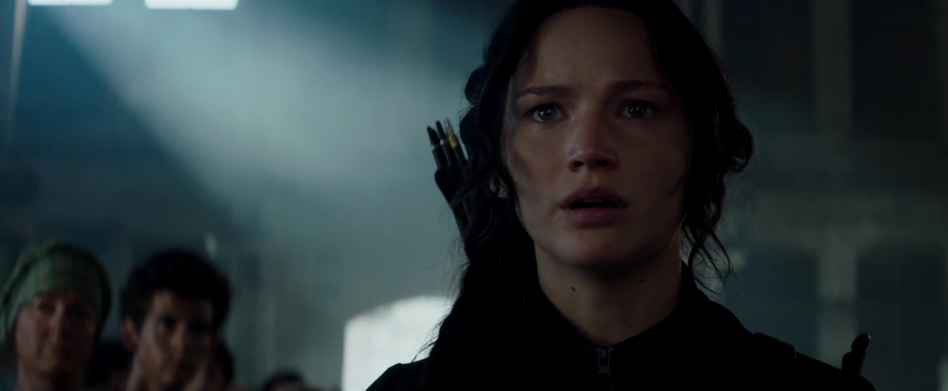 Mockingjay Part 1 – Our Leader the Mockingjay, Katniss