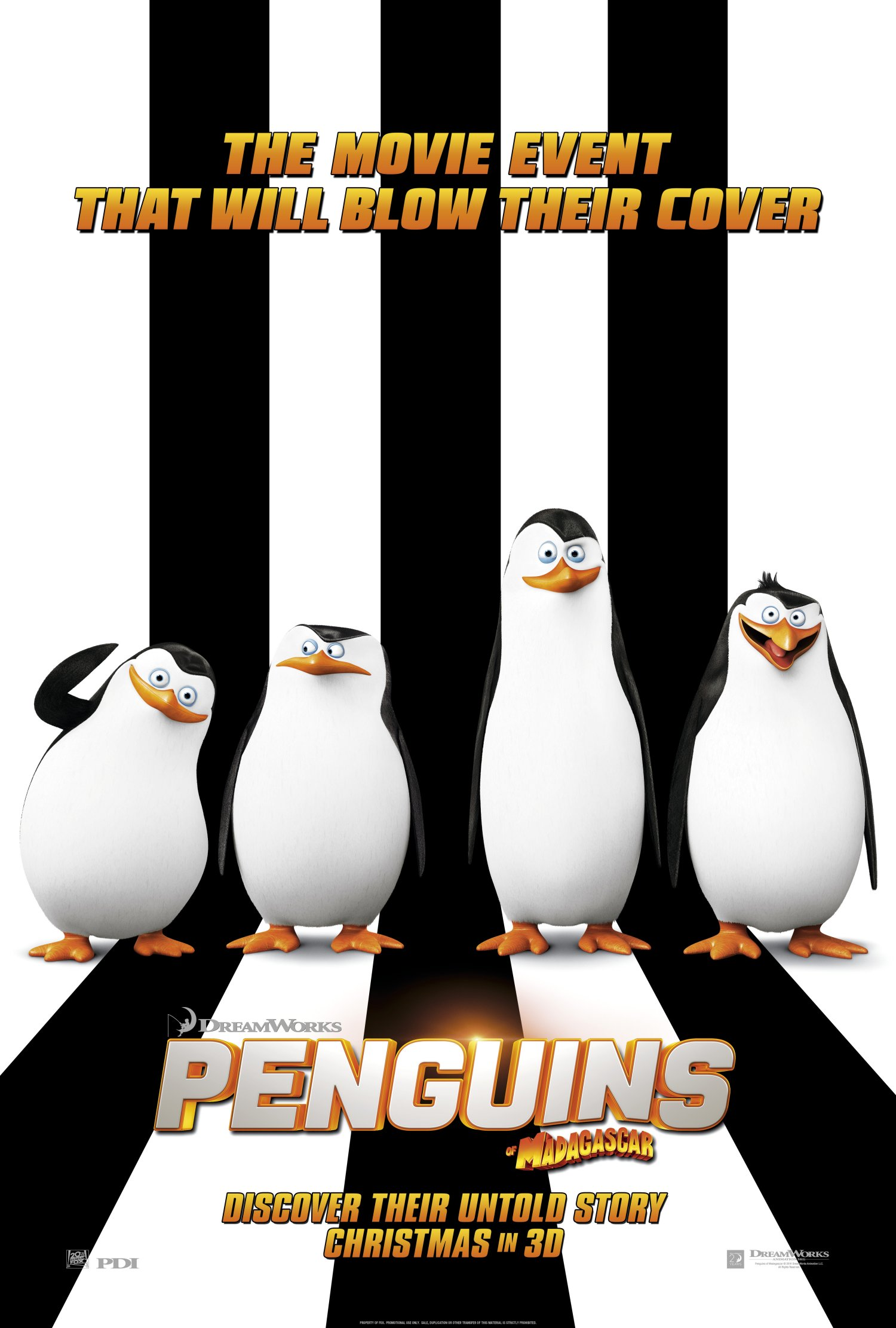Penguins Of Madagascar Teaser poster