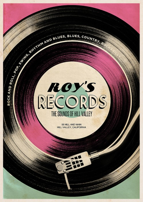 Roy's records - Hill Valley Stores