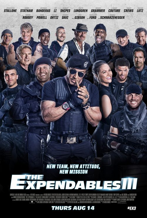 expendables 3 one sheet poster