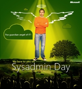 Hug your SysAdmin today…