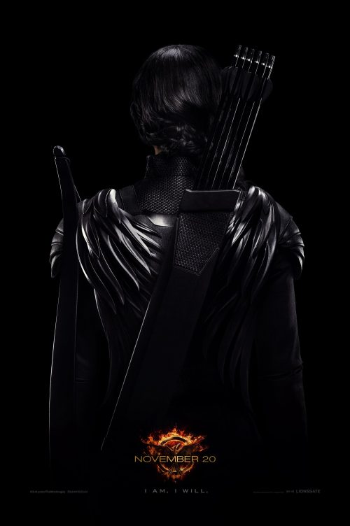 Katniss is the rebel warrior