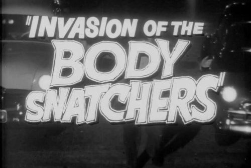 Invasion of the Body Snatchers is back