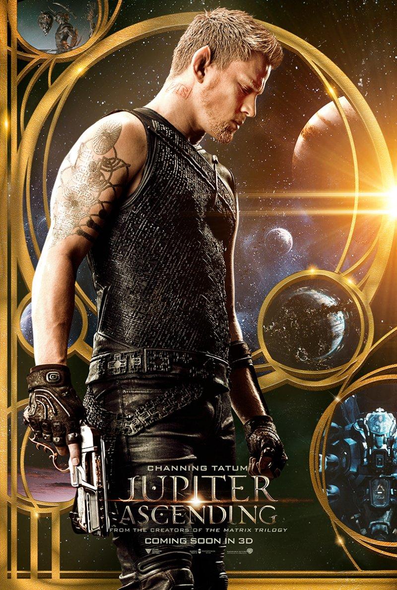 Jupiter Ascending poster  – Channing Tatum