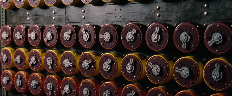 Bombe working to decode Enigma