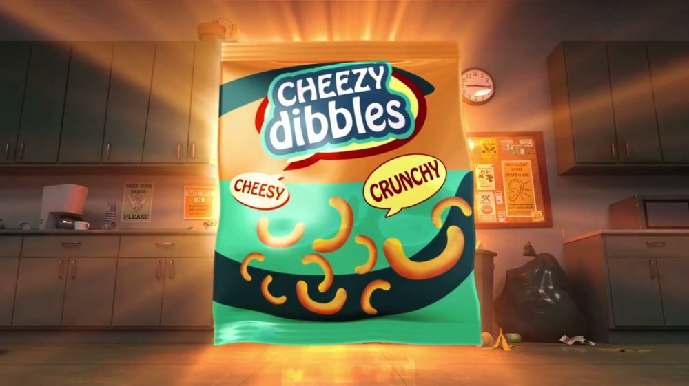 Cheesy Dibbles Advert – The food for a super spy