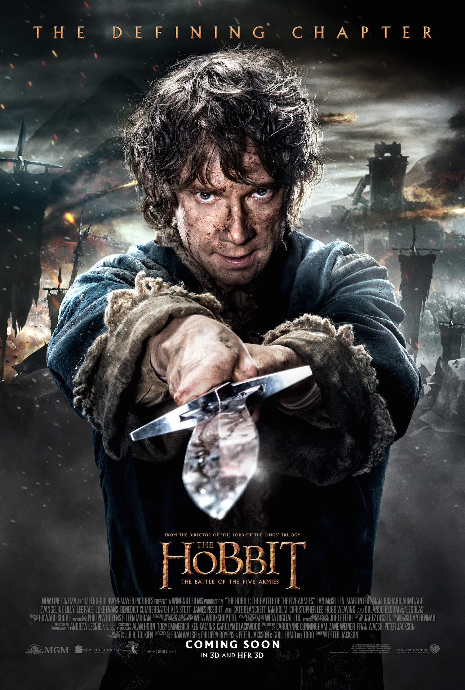 The Hobbit – The Battle of the Five Armies poster