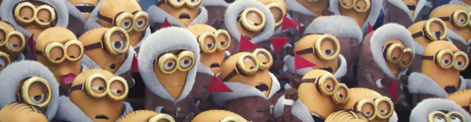 The Minions get a trailer