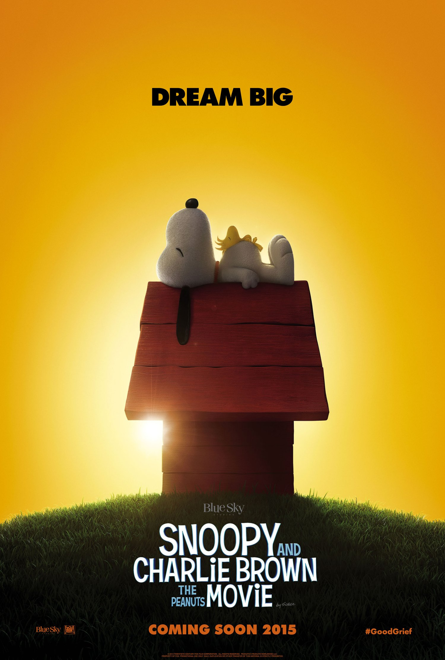 Snoopy and Charlie Brown The Peanuts Movie Teaser poster