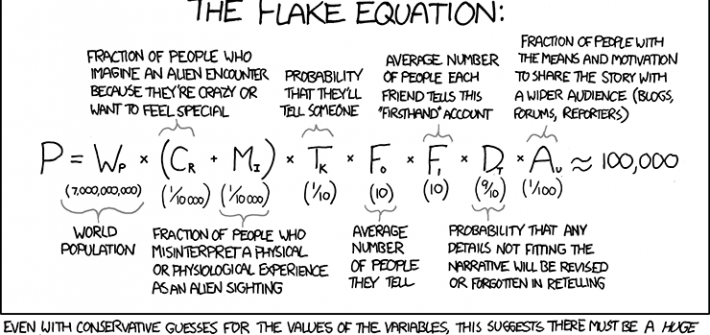 What is the Flake Equation