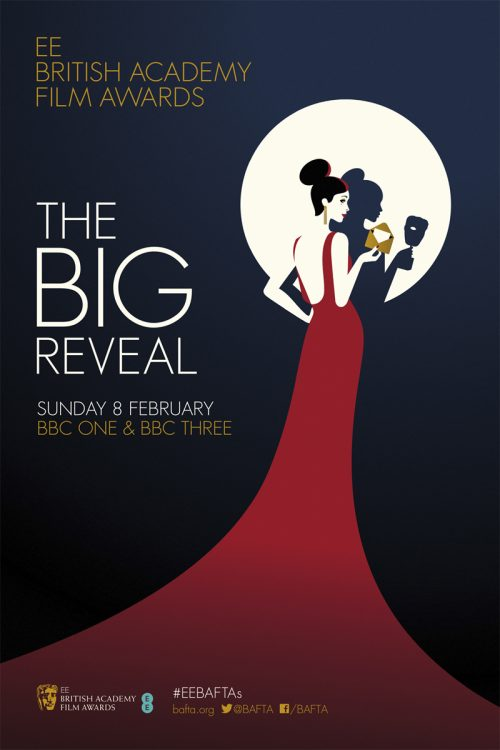 EE British Academy Film Awards poster