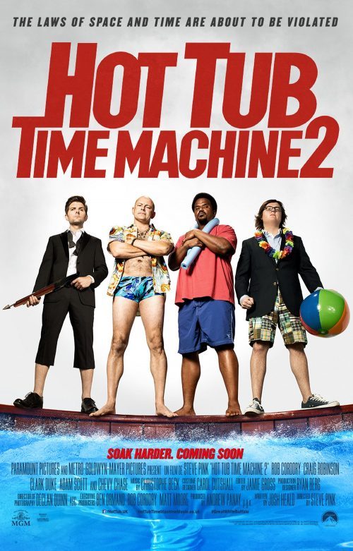 Hot Tub Time Machine 2 - poster
