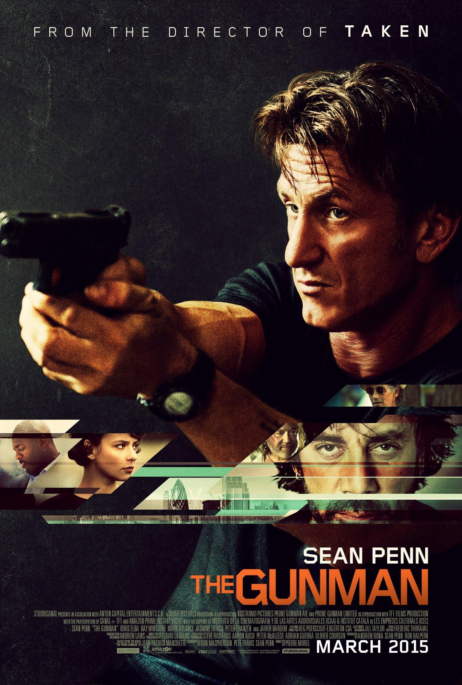 Sean Penn – The Gunman 1-sheet