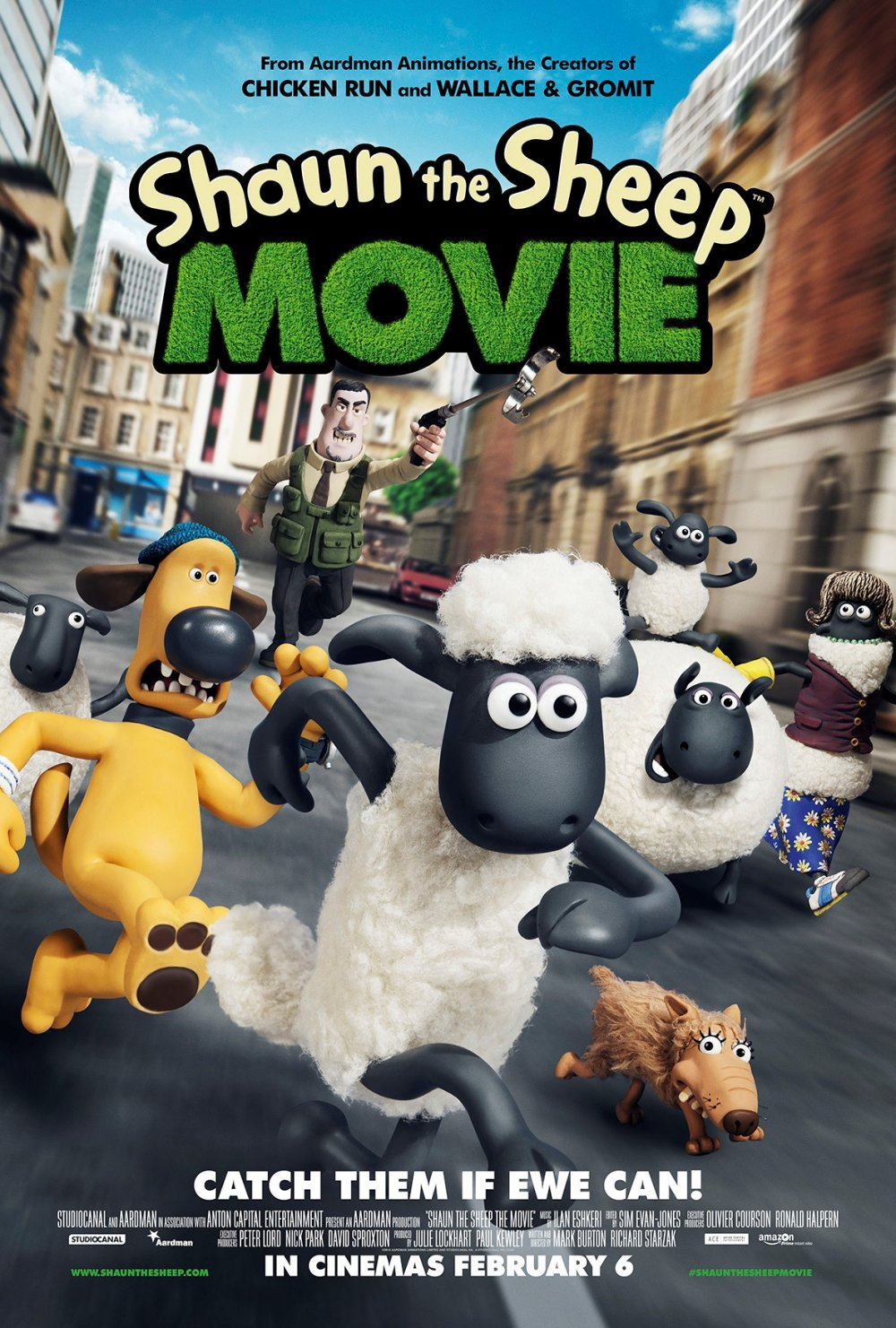 Shaun The Sheep – Chase poster one sheet