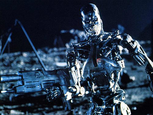 terminator robot killing machine - what if robots decided to try and take over the world