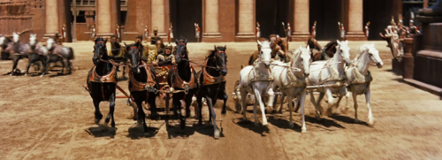Chariot Race from the 1959 Ben-Hur