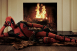 Deadpool's first image
