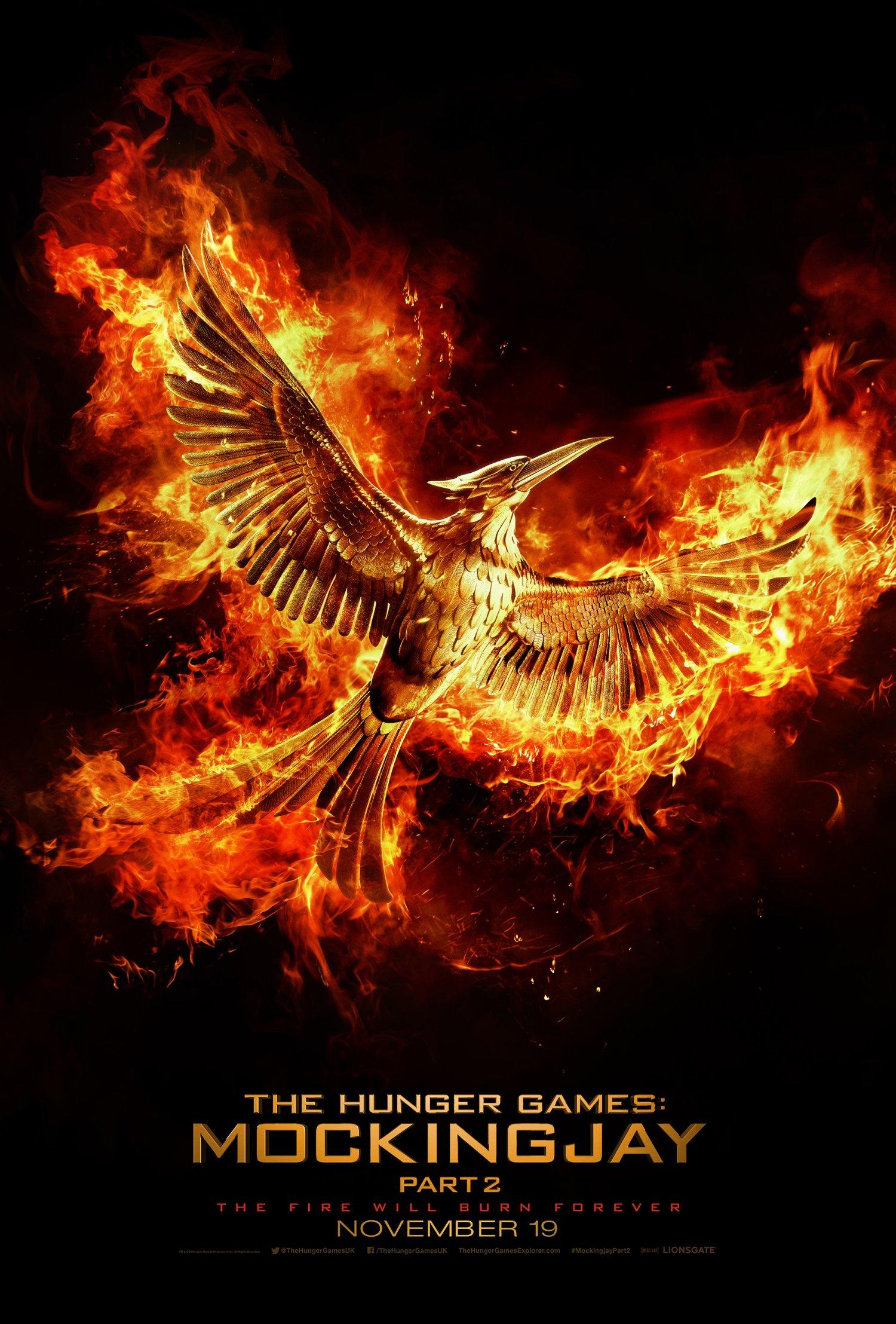 Katniss is back with Mockingjay part 2