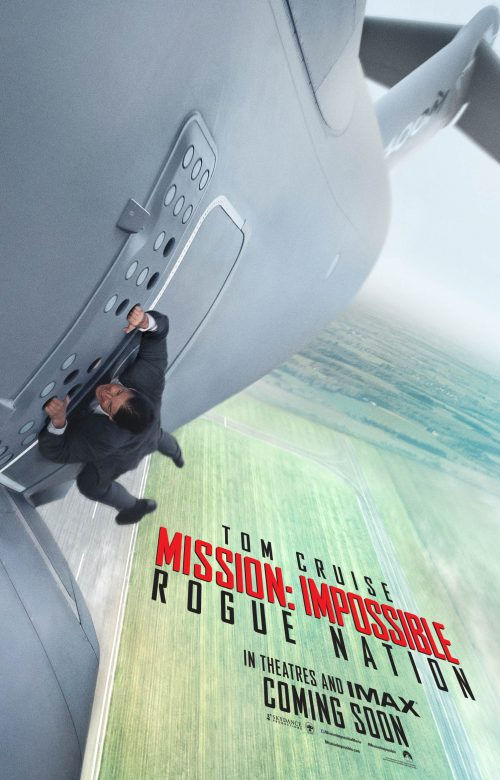 Mission Impossible - Rogue Nation teaser poster