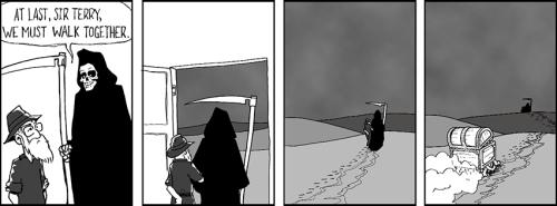 The last tweets – a comic